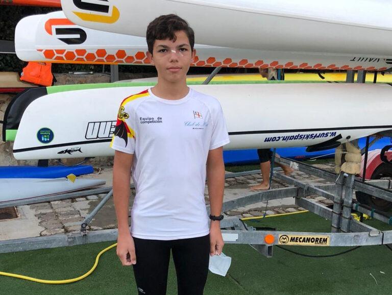 Germán Abasolo, deportista del Club de Mar Mallorca
