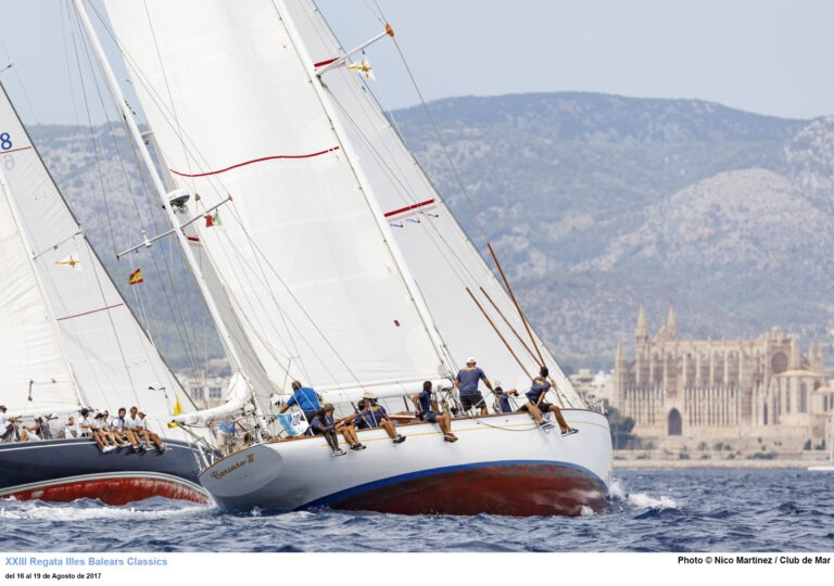 XXIII Regata Illes Balears Classics Vela Clásica Mallorca 16.08.2017 - 19.08.2017